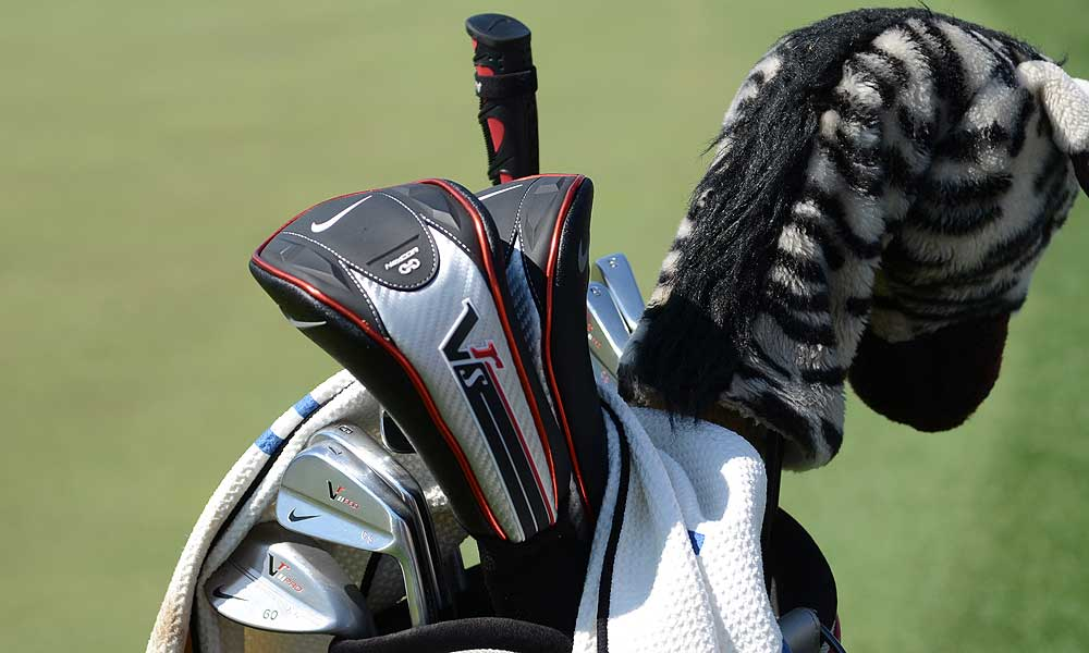 Charl Schwartzel will defend his 2011 Masters title using this set of Nike VR Pro Blade irons.