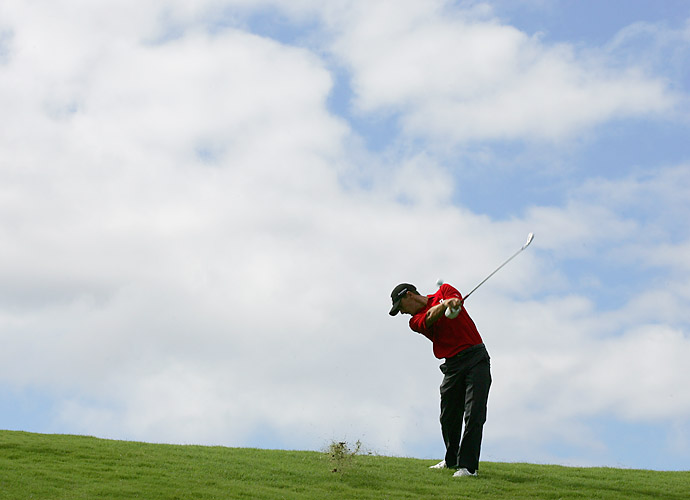 "THE VERDICT: Howell proceeded correctly. Under a recent rules change, a player has the option of identifying his ball in a hazard before playing it (Rule 12-2). If Howell had taken a hack at the wrong ball, he would've been penalized two strokes under Rule 15-3 for playing a wrong ball. If he had continued to play the incorrect ball through his first stroke on the next hole, he would have been disqualified. ""With this rules change,"" Howell says, ""it should make for some interesting scenarios going forward."""