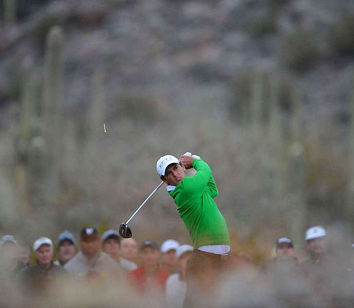 Though Charles Howell III has never quite lived up to his ability on Tour, he's been front and center in 2013, with four top-10 finishes so far including a loss in a playoff at the Humana Challenge (not to mention his win over one Tiger Woods at the Match Play). Better luck next year.