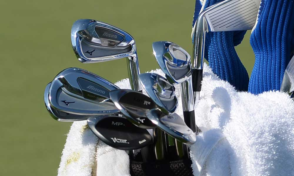 Augusta native Charles Howell III uses Mizuno MP-59 irons and MP R-12 wedges.