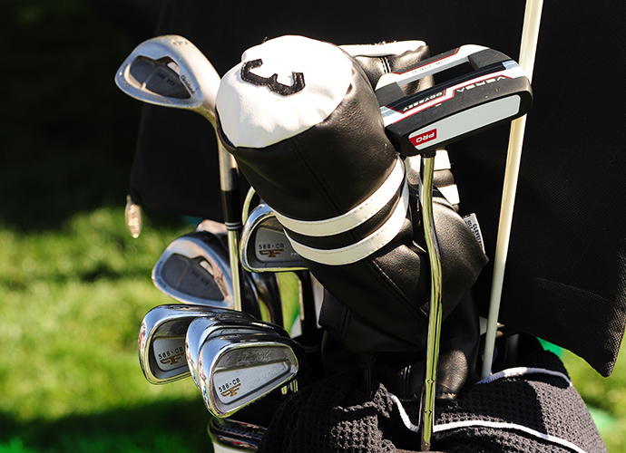 Charlie Beljan will look to improve on his strokes gained putting rank (139) this week with his Odyssey Versa Pro putter.