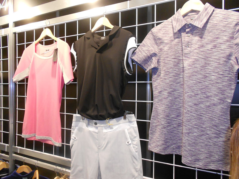 Chase54 made its PGA Show debut with practical, affordable pieces made with performance fabrics for both men and women.