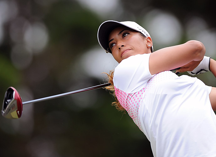 She turned pro in 2012 following an impressive collegiate career at Wake Forest. She twice won All-American honors, finished with the lowest scoring average in school history, and won the 2011 ACC Championship.