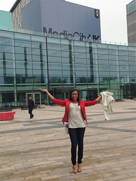 @Cheyenne_Woods: Media City UK!