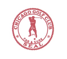 Chicago Golf Club's stamp is old-timey and iconic, fitting for a club that's more than 120 years old.