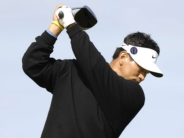 K.J. Choi--one of the first players to switch to a square-headed driver--hit only eight of 15 fairways Friday but still managed to shoot another 69. He is two behind Garcia.