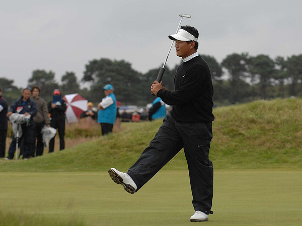 Choi saw some good scoring chances slip away and shot 72. He is tied for third, six shots behind Garcia.