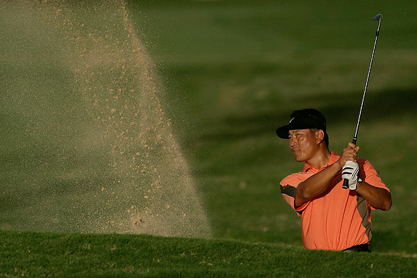 5 Things You Didn't Know: Sony Open                     GOLF.com takes you inside the numbers and breaks down the second event of the 2008 PGA Tour season.                                          Choi sensational in the sand                     K.J. Choi, winner of the 2008 Sony Open in Hawaii, hit into six greenside bunkers last week and got up-and-down for par or better every time. In 2007, the former power lifter ranked 10th on the PGA Tour in sand save percentage at 58.39%, getting up-and-down 80 times out of 137 attempts.