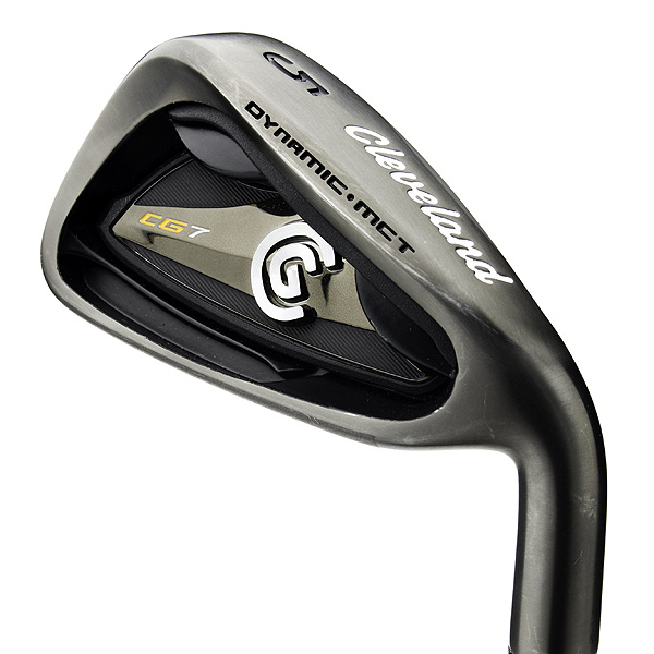"The CG7 BP has the                   same chassis as the                   existing CG7 irons.                   The differences, of course, are                   a new finish (rich-looking black                   pearl) and a laser-milled clubface                   and grooves. These grooves,                   in fact, are the same aggressive                   ""zip"" grooves that you'll find                   on Cleveland's popular wedges.                   Expect to get loads of spin                   from the CG7 BP, particularly                   with the shorter irons.                   $699, steel; $799, graphite                   clevelandgolf.com"