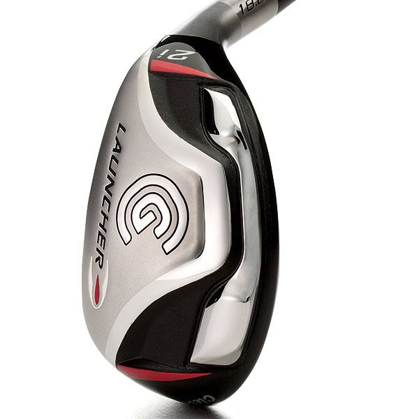 Cleveland Launcher                     $139, steel, $149, graphite                     clevelandgolf.com                     It's for: All skill levels                                          • Launcher offers                     max forgiveness                     in a conventional                     head shape.                                          • The parabolic                     leading edge aids                     turf interaction.                                          • The horseshoe-shaped                     weight                     along the                     perimeter                     contributes                     to the firm's                     highest MOI                     in a hybrid.                                          • Shaft-fitting system consists                     of Fujikura Fit-On Red (tour                     trajectory) or Fit-On Gold                     (standard ball flight) to suit                     your needs.                                          Buy and Compare This Club Now