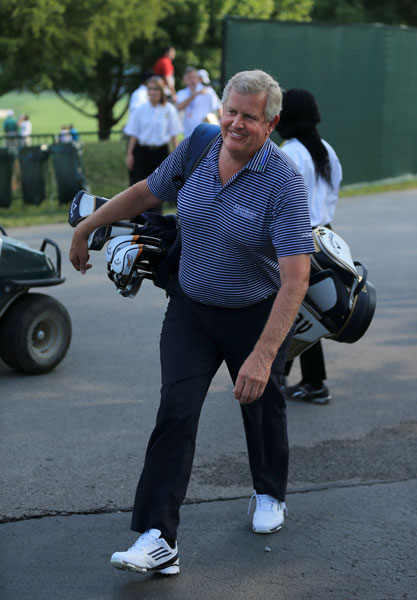 "Colin Montgomerie                     Few players have drawn the ire of golf fans like Colin Montgomerie. Monty's stellar play in the Ryder Cup and hyper-sensitivity to slights from the gallery ensured that  the Scotsman more than his fair share of controversy. Monty enjoyed a renaissance in 2014, winning two Senior majors and making peace with American fans. ""I've matured,"" he says. ""I've realized that you need the fans on your side. There's no point in fighting against a few thousand of them out there."""