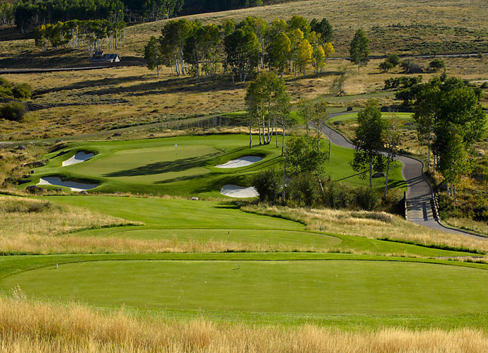 3. Cornerstone in Montrose, Colo.: One of the greatest high-altitude courses in golf, this 2008 creation carved into the Uncompahgre Plateau in southwestern Colorado dishes out jaw-dropping vistas of Grand Mesa, the Cimarrons and the Sneffels Range. Amid all the alpine scenery, it's the strategic tests that carry the day, notably with imaginative bunkering and greens that demand skillful run-ups. With a first tee at 9,213 feet, this is a breathtaking layout from start to finish.