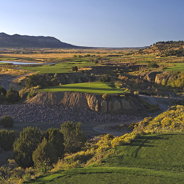 Cougar Canyon Golf Links                       Trinidad, Colo.                       7,709 yards, par 72                       Green fees: $35-$73                       719-422-7015, cougarcanyonliving.com                       Residental courses                       tend to be like                       the golf communities                       they inhabit: relaxed,                       conventional and                       uncontroversial. Cougar                       Canyon, located in the old                       mining town of Trinidad,                       halfway between Denver                       and Albuquerque, breaks                       that mold. Chris Cochran                       of Nicklaus Design has                       crafted a peril-filled track                       with the Sangre de Christo                       Mountains as a backdrop.                       The formidable length                       from the tips is mitigated                       by the 6,000-foot                       elevation, but there's                       plenty of trouble here,                       starting with the 42 deep,                       black sand bunkers (a                       nod to the town's mining                       heritage). The flattish                       front nine yields to                       jacked-up excitement on                       the back, notably at the                       stunning 163-yard                       16th, which demands a                       short-iron dart over a                       yawning swath of Gray                       Creek to an island green                       that rests atop a 7,800-                       square-foot mesa.