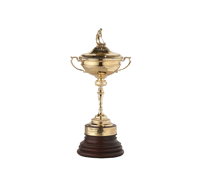 Couples' trophy from the 1997 Ryder Cup at Valderrama.