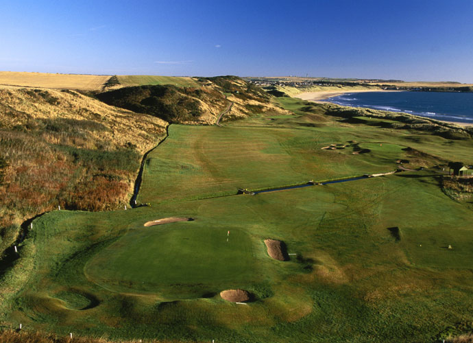 A Plethora Of Must-Plays                       Cruden Bay (left). Montrose, Fraserburgh. North Berwick. An excursion along the Scottish coast swings you past an epic line up of world-class layouts that will never be a fit for the Open rota but still belong on your bucket list.