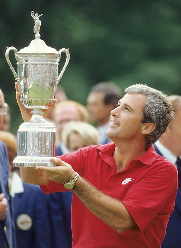 At the 1989 U.S. Open at Oak Hill, Curtis Strange ended up on top of the leaderboard, capturing his second consecutive Open title.