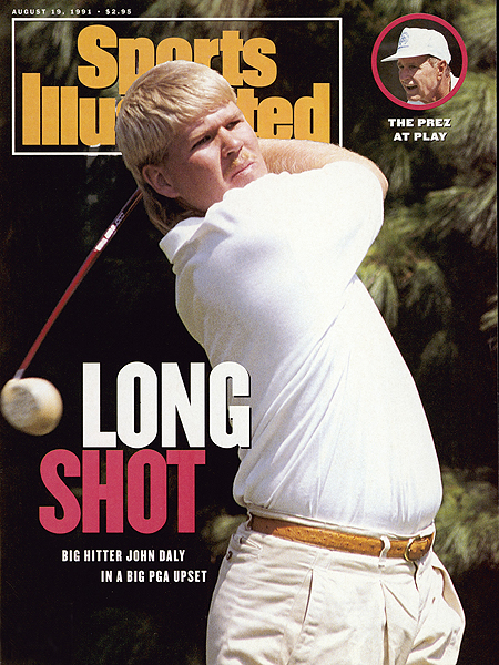 John Daly has had one of the most remarkable -- and tumultuous -- careers in the history of golf. Here's a look back at the highlights and lowlights. He was the ninth and final alternate at the 1991 PGA Championship at Crooked Stick, and his stunning win there put him on the cover of Sports Illustrated.