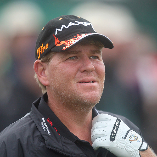 On the eve of Open Championship, 1995 winner John Daly looked a little nervous. Having missed the cut or been forced to withdraw from 10 of the 15 events he's played this season, it's understandable.