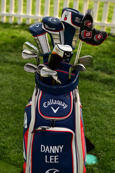 Young Kiwi sensation Danny Lee is a Callaway staffer and carries a collection of the company's gear including RAZR X forged irons and Big Bertha driver.