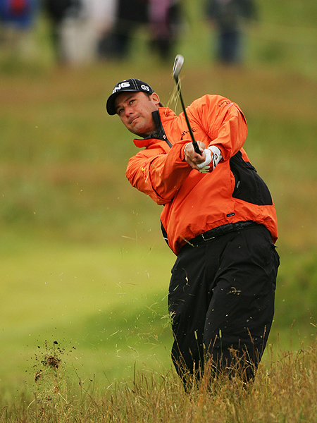 Chris DiMarco, the runner-up at the 2006 British Open at Royal Liverpool, had seven birdies and two bogeys to shoot 66 and finish at three under for the tournament.