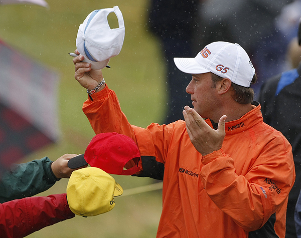 Chris DiMarco was the runner-up in the 2006 Open Championship, losing to Tiger Woods by two shots. It was his best performance in a British Open, and fans still are drawn to his emotional style, but he has not finished higher than T12 in a major championship since.