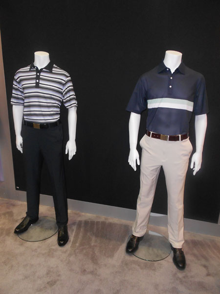 Dunning is known for making some of the best-fitting pants in golf.