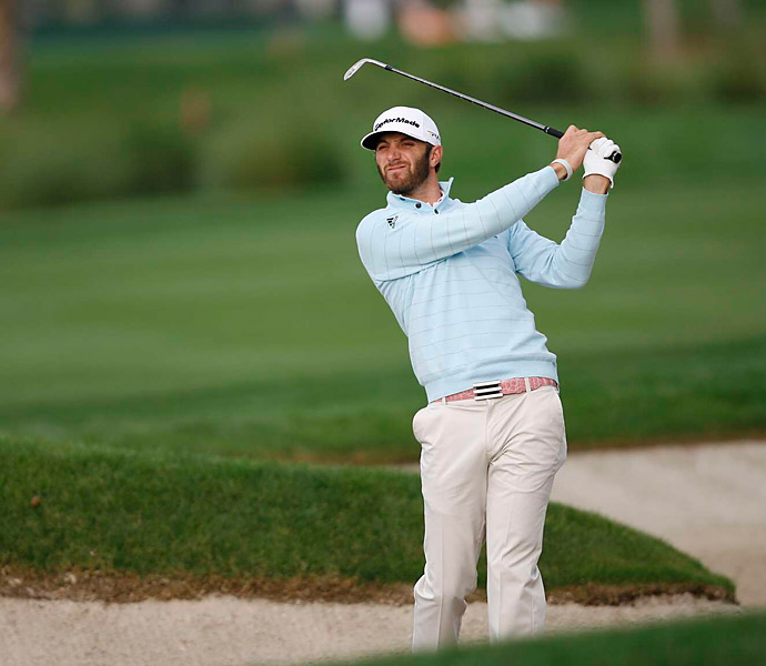 Dustin Johnson shot a 66 to get to four under.