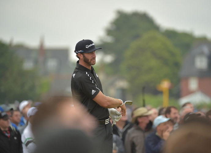 Dustin Johnson shot a 1-under 71 to slip into a tie for third with Garcia.