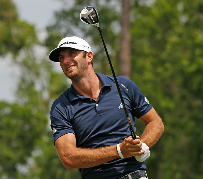 Dustin Johnson                     In 2011, D.J. claimed the longest drive for the Tour season with a 463-yard tee shot on the par-5 seventh hole at the TPC Boston in the final round of the Deutsche Bank Championship. D.J. has been in the top-4 in driving distance in the past five seasons.