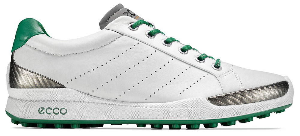 Ecco is issuing 100 pairs of its special edition BIOM Hybrid, to be worn by Fred Couples at the Masters. The shoes combine natural-motion technology with a non-cleated platform. Available at eccousa.com and golfsmith.com ($190), beginning April 9.