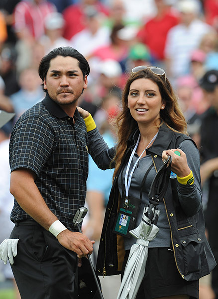Jason and Ellie celebrated their four-year wedding anniversary at the 2013 Presidents Cup.