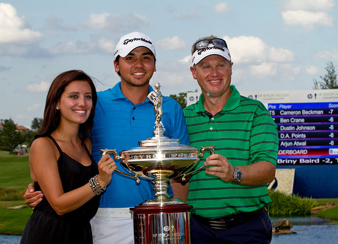 Jason won the 2010 Byron Nelson Championship, his first PGA Tour victory.