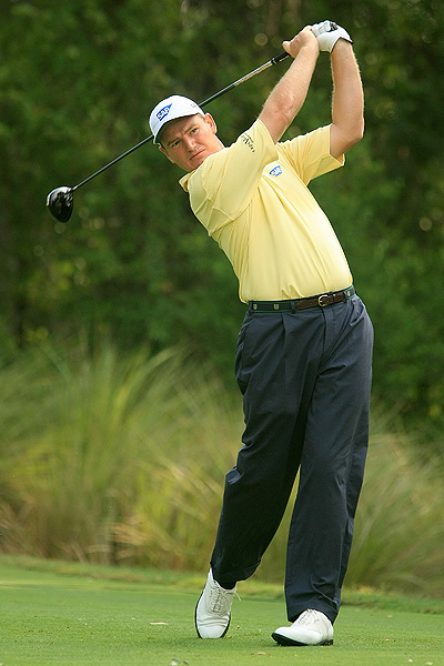 3. Ernie Els — Callaway FT-5 (9.5°)                     Average driving distance: 285.1 yards                     Percentage of fairways hit: 57.2