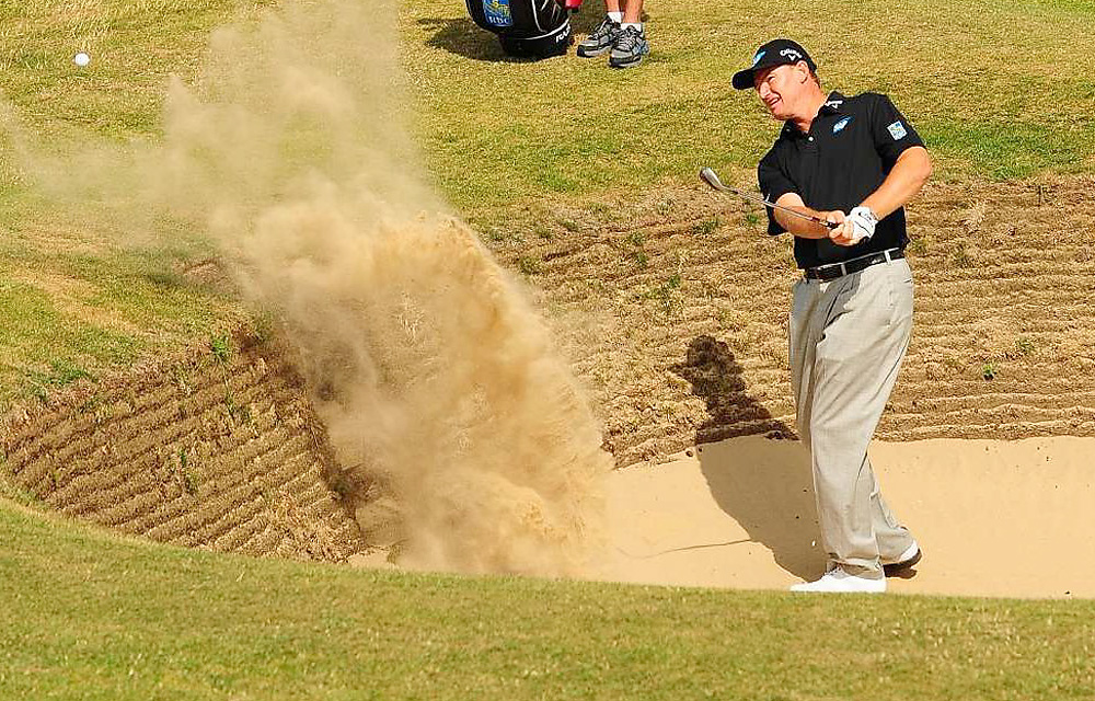 Ernie Els                     Coming off a 2010 season where he won twice and earned more than $4.5 million to finish third on the PGA Tour money list, Els was a major dud in 2011. He recorded just one top-10 finish in 21 PGA Tour events and failed to earn $1 million on tour. He began the season ranked No. 12, and finished No. 56.