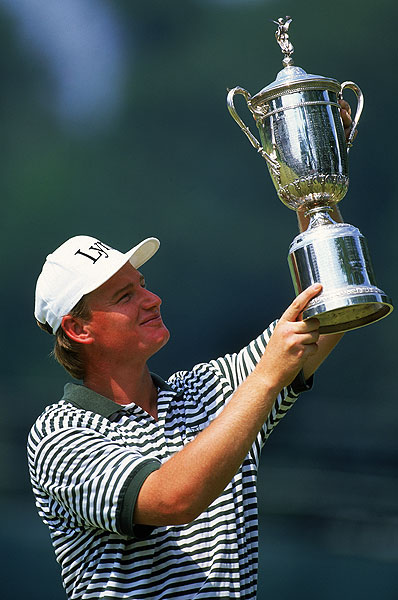 Ernie Els: Career in Pictures                       A photographic look at the big wins, heartbreaking losses and unique life of the Big Easy.                                              Els had his breakthrough win in the United States at the 1994 U.S. Open at Oakmont.