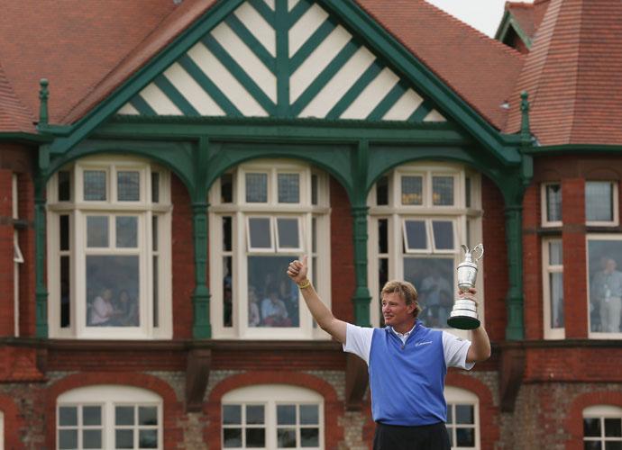 Ernie Els, 2012, Royal Lytham & St Annes