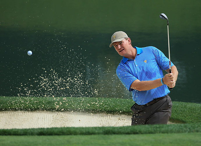 The International team is hoping veteran Ernie Els can help carry them this week.