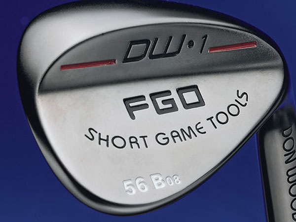 $89                     forgolfersonly.com                     Made of: Cast 8620 carbon steel                     Loft/bounce: 46°/4°, 46°/8°, 48°/6°,                     48°/10°, 50°/6°, 50°/10°, 52°/8°, 52°/12°,                     54°/10°, 54°/14°, 56°/8°, 56°/14°, 58°/10°,                     58°/16°, 60°/8°, 60°/16°, 64°/8°, 64°/16°                      Heavier head enhances feel. Softer shaft flex for smooth feedback and higher-spinning shots.Thick top line and higher center of gravity increases spin on full shots. Milled face and grooves go through a                     process that softens the groove edges to reduce damage to the cover of your ball. Company stamps your initials on custom orders at no additional charge.