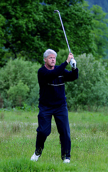 The leader of the free world was Bill Clinton. The democrat from Arkansas was in the middle of his first term as president when Watson's American's won the Cup. Maybe that's why he passed up the opportunity to play golf with Rory McIlroy this summer.