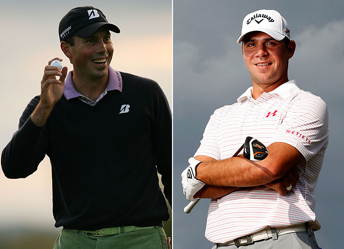 Inside Linebacker                       Matt Kuchar and Gary Woodland are nice guys, welcoming enough to allow opposing running backs into their fold, but they are plenty big enough to leave them right there. Woodland is one of the stronger, longer players on Tour. Hopefully he could have a bit of a mean streak and let that rub off on nice-guy Kuchar.