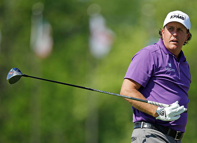 """And Jones was not the only man to receive the Mickelson complaint regarding course setup. During the 2013 U.S. Open at Merion, Mickelson reportedly complained adamantly to USGA Executive Director Mike Davis about the lengthy par-3 third hole. """"That's terrible, 274 yards,"""" Mickelson said. """"We can't even reach it.""""                      Maybe it was a warranted complaint for Mickelson, though, who played the hole 3-over par through the event, including a double bogey during his Sunday round, where he surrendered the lead."""