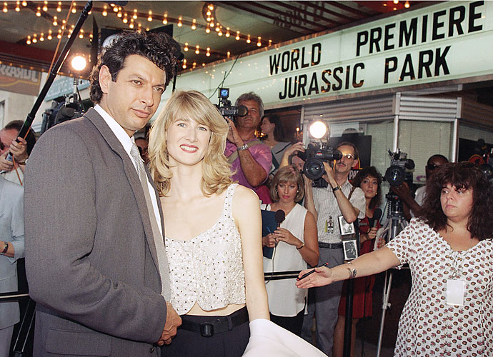 A film for the ages, Jurassic Park debuted in the summer of 1993, starring Jeff Goldblum and Laura Dern among others. The sci-fi thriller was a mega-hit, raking in more than $900 million in theaters worldwide.