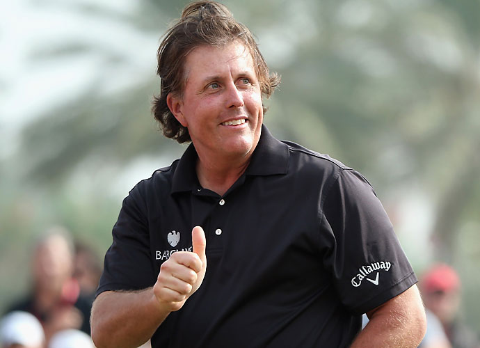 """But ironically, the course at Muirfield was not too difficult for Phil. At 43, Lefty came back on Sunday and won the British Open for the first and only time in his career, leaving him just needing the U.S. Open championship for the career grand slam. Nonetheless, Mickelson's early season struggles with taxes would resurface as he would have to pay 60 percent of those Open winnings to the state of California.                     Phil, as always, had a memorable quote: """"It's not making me want to go out and work any harder."""""""