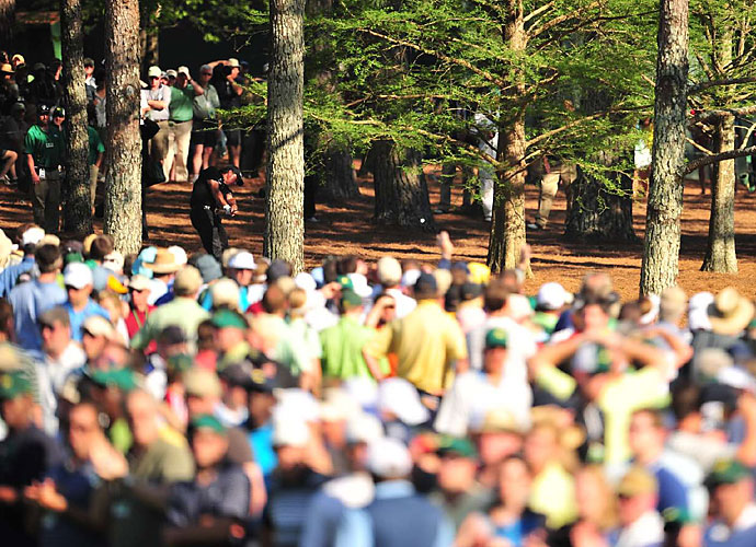 2010                     Phil Mickelson wins his third green jacket and fourth major in 2010, and his second-shot approach on the par-5 13th hole becomes part of Masters lore. He wouldn't win again that year, but claiming another green jacket is enough to validate his year.