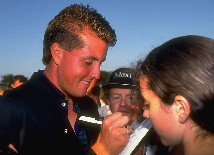 """It was an ill-advised joke by Lefty, definitely not timed correctly on European soil. The reaction wasn't terrific, and Mickelson soon found that out:                      """"I knew I was in for it the moment I said it,"""" he said. """"It was a bad joke, and I feel just terrible about it."""""""