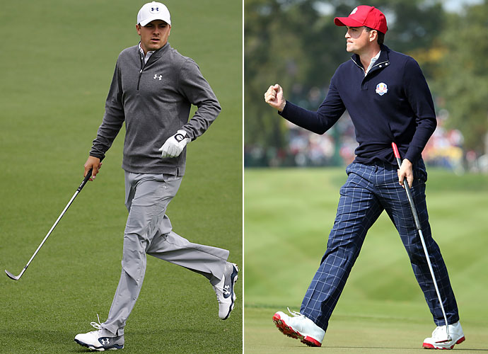 Safety                       Jordan Spieth and Keegan Bradley could make for an interesting Ryder Cup team in addition to leading the all-golf fantasy defensive backfield. Spieth is consistent and reserved while Bradley creeps up on the field and is a bit fiery. Either way, you tend to want each player on your squad.