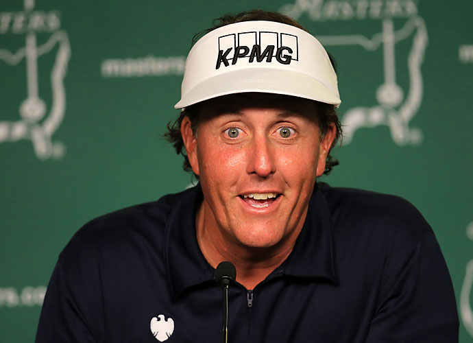 When Phil Mickelson talks, people listen, and depending on Lefty's mood, he'll speak on just about anything. Here are the famous moments in Mickelson's career where his mouth led the way.