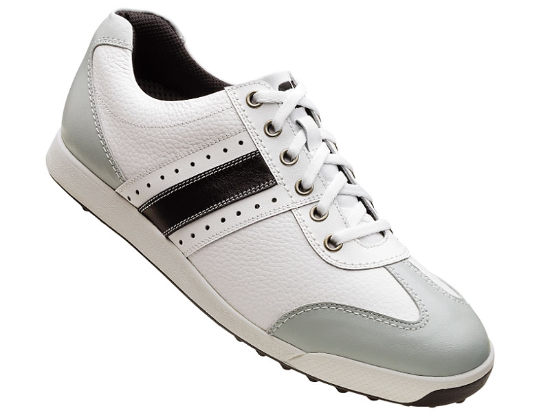 FootJoy Contour Casual ($115, footjoy.com)                       Spikeless shoes are the hottest trend in golf apparel. The Contour Casual has a nubbed outsole for traction and will take your guy from car to clubhouse to course in style and comfort.
