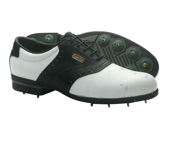 1989: FOOTJOY DRYJOY SHOE                       Shortly after its introduction, the FootJoy DryJoy shoe becomes the standard in waterproof footwear, matching the popularity of the company's StaSof glove, which is now celebrating its 25th anniversary as the most popular glove in golf.