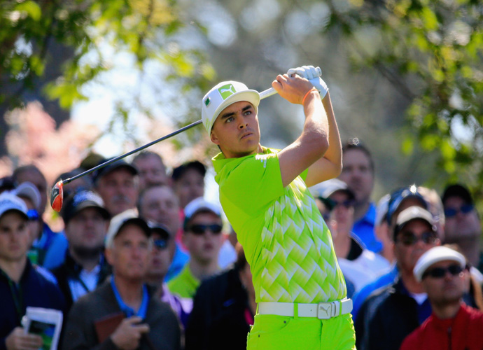 Rickie Fowler                         Fowler used to have a golf-happy relationship with Alexandra Browne, daughter of 2011 U.S. Senior Open winner Olin Browne. However, the two have not been seen together since 2012, raising questions about the fashionable 25-year-old's relationship status.